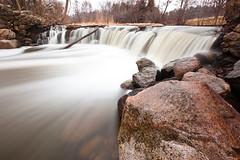 Whitnall Park (Ryan --- rpm_photo) Tags: longexposure water wisconsin dark waterfall spring rocks lakes waterfalls foam rivers ponds wi slippery springtime waterflow whitnallpark springmelt