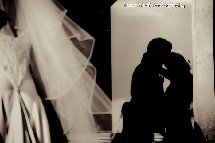 Frances & Bradley's Wedding - Silhouette