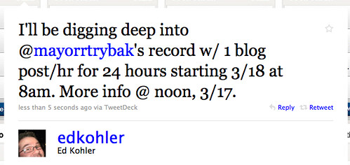 Digging Deep into Mayor RT Rybak's Record
