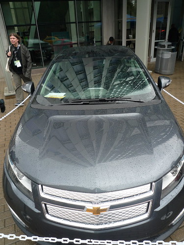 Chevy Volt Outside Austin Convention Center at SXSW