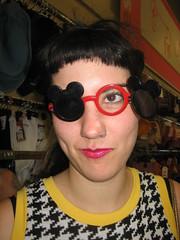 meggie gaga (boy_named_turnip) Tags: shopping meg shades mickeymouse savers dwaynewayne