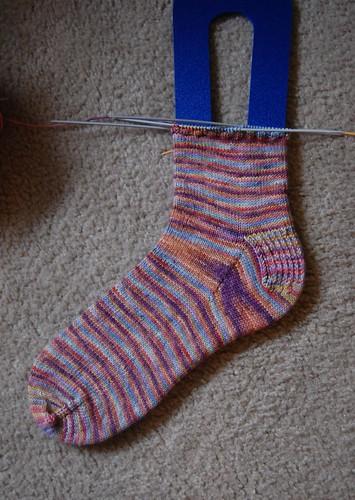 WIP: Marbles sock