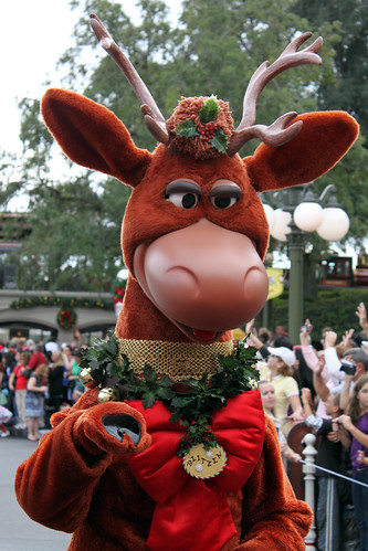 Reindeer At Disney Character Central