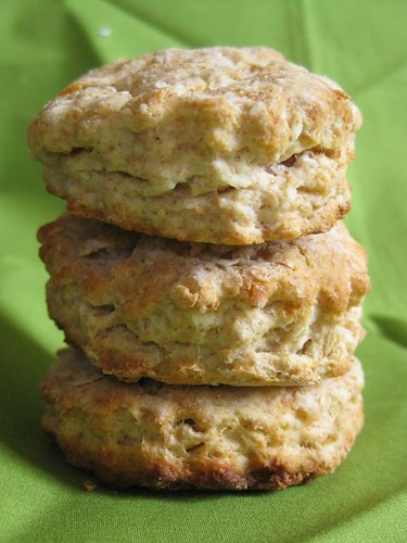 Whole Wheat Honey Buttermilk Biscuits