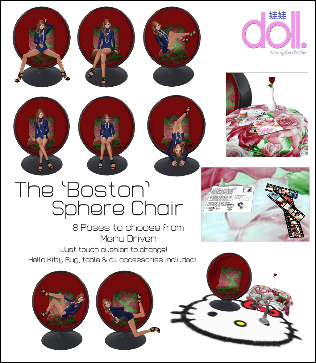 [doll.] The Boston Sphere Chair