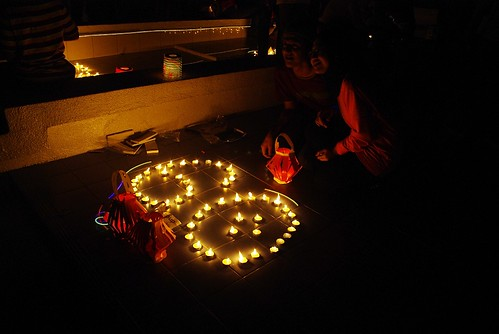 Couple at Earth Hour 2010