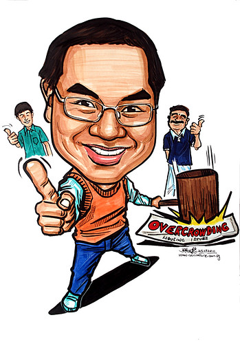 Caricature for Ministry of Manpower - 17