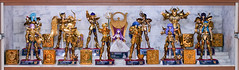 Athena's Gold Saints (Jeckh) Tags: saint action collection knights zodiac cloth figures myth bandai seiya zodiaque caballeros chevaliers zodiaco cavalieri