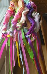 Fairy Garlands (BeneathTheRowanTree) Tags: toy costume child play natural waldorf silk dressup garland fairy imagination ribbon handdyed playsilk