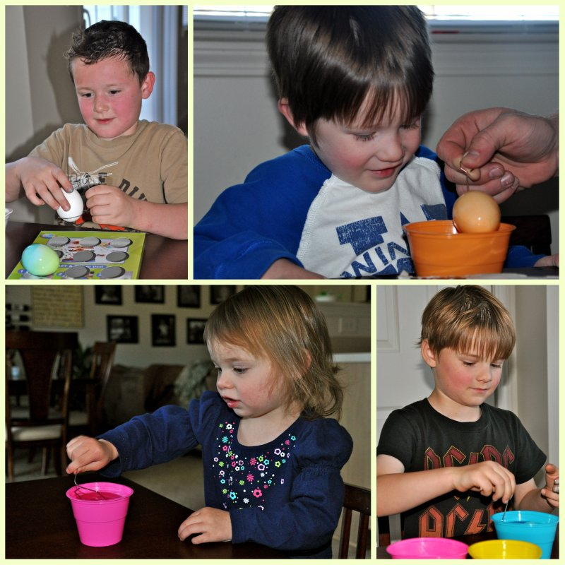 Decorating Eggs