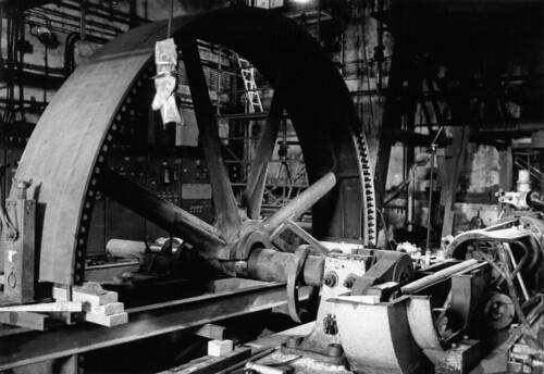 Démontage de la machine à vapeur Dujardin