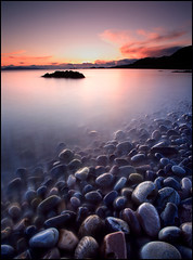 Pick one, any one... (angus clyne) Tags: sunset red sea sky cliff cloud white seascape west reflection beach water rock night landscape island coast scotland moving spring highlands europe long exposure sailing purple space north deep wave pebbles wash shore round worn land setting lochnanuamh supernovainthesky