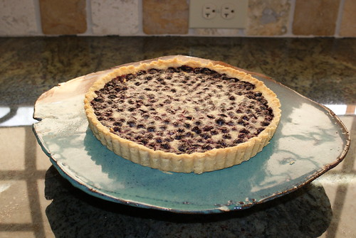 Blueberry Buttermilk Pie