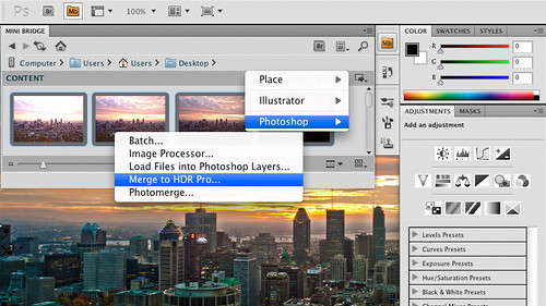 Problema en la interfaz de Adobe
