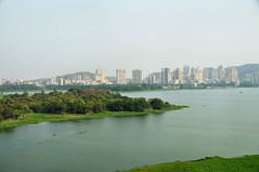 Powai Lake from the Renaissance Hotel