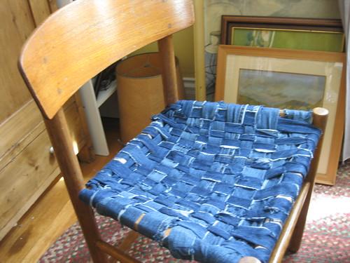 Чехол на стул из джинсы своими руками чехол на кресло 100