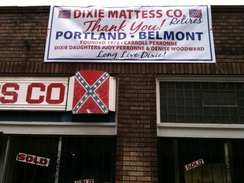 Closed: Dixie Mattress, Portland, Oregon