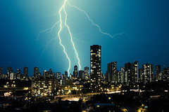 illuminate (Jeremy Snell) Tags: lightning city illuminate thunder storm honolulu hawaii light power heaven struck thunderstruck lightningstrike bolt electric