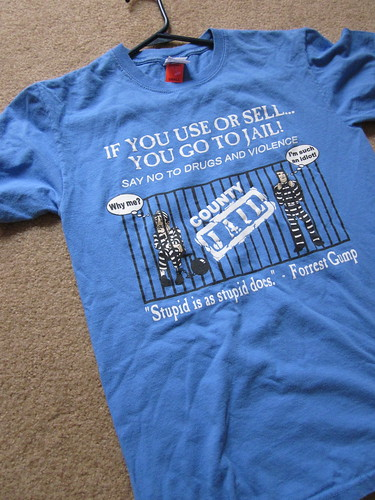 goodwill find: jailbird shirt