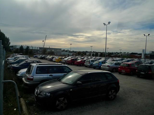 Monash Uni Clayton carpark