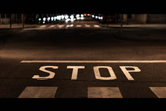Day Fourty Eight (Sergio Cendra) Tags: night stop dreaming nikon d700 bokeh bokehliciuos street