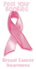 Conciencia por el cancer mamario, siente tus pechitos
