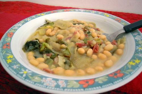 minestra fagioli zolfini