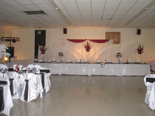 Here 39s an idea for a backdrop at the wedding reception for the bride and