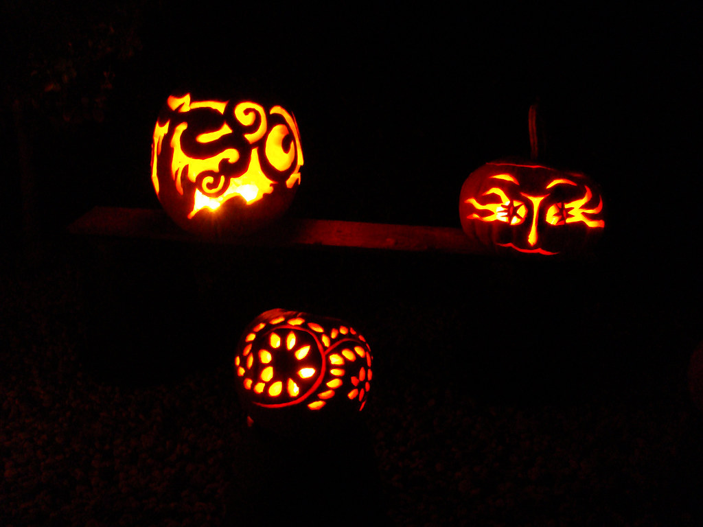 DSC02957 Halloween Pumpkins