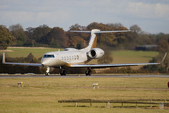 4K-MEK8 - 5204 - SW Business Aviation - Gulfstream G550 - Luton - 091102 - Steven Gray - IMG_3179
