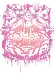 BLAZE IT UP t shirt print. (PAC UA 1972) Tags: old school red art up graffiti design tshirt can it halftone skool bubble arrows blaze hip hop vector pac redbubble pac1972 trevorlution