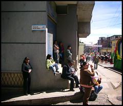 Espectadores de la esquina