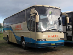 Hafti Transport Inc. (Chkz) Tags: bus nye transport tourist hino 346   hafti k13t chokz2go