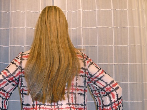 Keratin straightened hair by Austral.