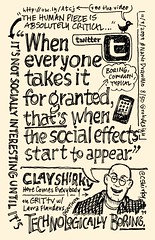 NaNoDrawMo 2009 - 8/50 - Clay Shirky