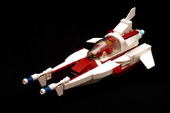 Space Dart #1 (pasukaru76) Tags: lego space moc starfighter sigma105mm vicviper