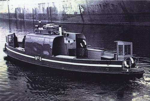 Last Govan Ferry, Yorkhill Quay, 1977.