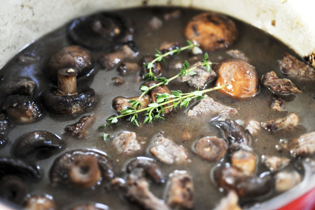 Quick Beef Stew With Mushrooms And White Beans Recipes — Dishmaps