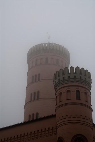 Jagdschloss Granitz - Türme