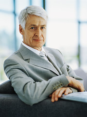 portrait of a senior businessman (homecaregiverstore@gmail.com) Tags: people men 1 outfit clothing suits indoors males whites adults businessmen businesspeople headandshoulders senioradult seniorman middleaged businessandcommerce 6065years 60sadult 6570years