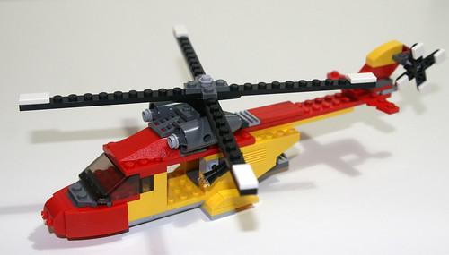 2010 LEGO Creator 5866 Rotor Rescue