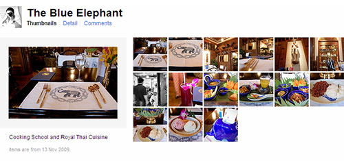 Blue Elephant Flickr Set