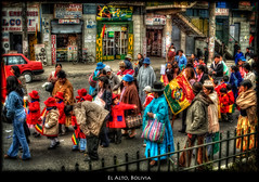 El Alto, Bolivia (szeke) Tags: street city travel people urban woman buildings children landscape child place traffic bolivia parade lapaz elalto aymara dayofthesea fineartphotos diadelmar theunforgettablepictures daarklands
