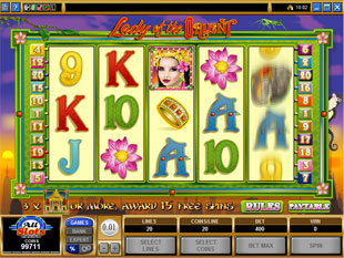 Lady of the Orient slot game online review