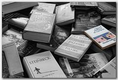 "Homenaje a El Camino | Tribute to ""The Way"" (jaroro70) Tags: canon books tribute elcamino libros kafka f28 danbrown johnsteinbeck vincentvangogh washingtonirving 1755 homenaje elpadrino mariopuzo randypausch jdsalinger arturoprezr"