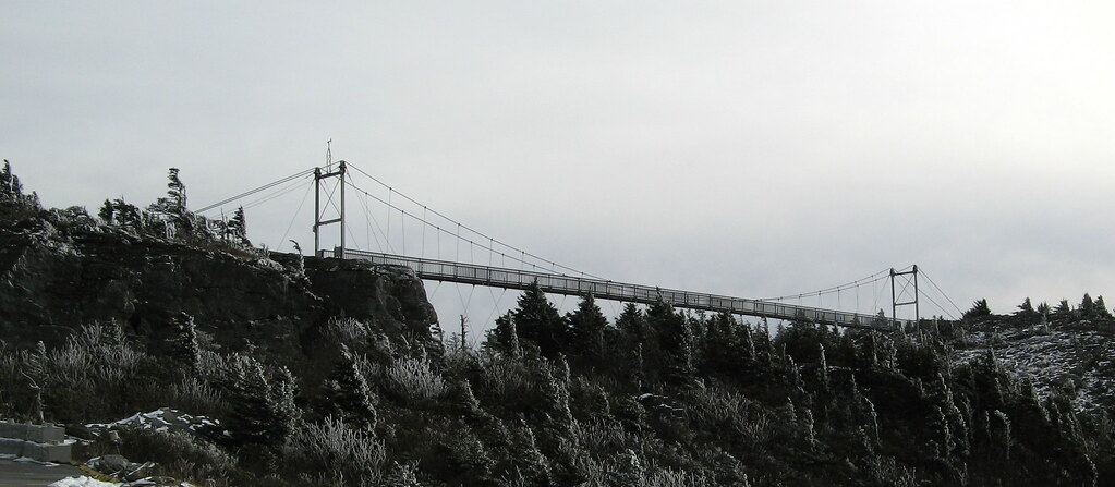 Mile-High Swinging Bridge