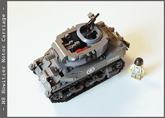 m8_2_06 (Captain Eugene) Tags: lego wwii m8 motorcarriage howitzer lighttank legotank brickmania