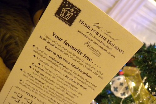 Home for the Holidays at Sutton Place Hotel - for Canuck Place