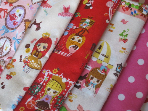girlie fabric