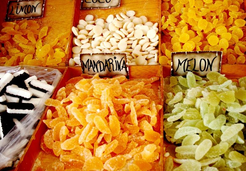 Chuches de frutas